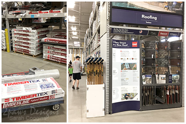 GAF Roofing At Lowe's Home Improvement #ad #RoofedItMyself