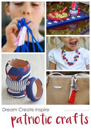 Dream Create Inspire: Patriotic Crafts 2017