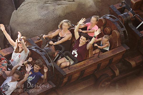 Magic Kingdom: Seven Dwarfs Mine Train ride photo
