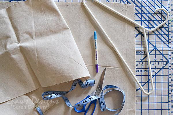 Organizing Scout Uniforms: supplies
