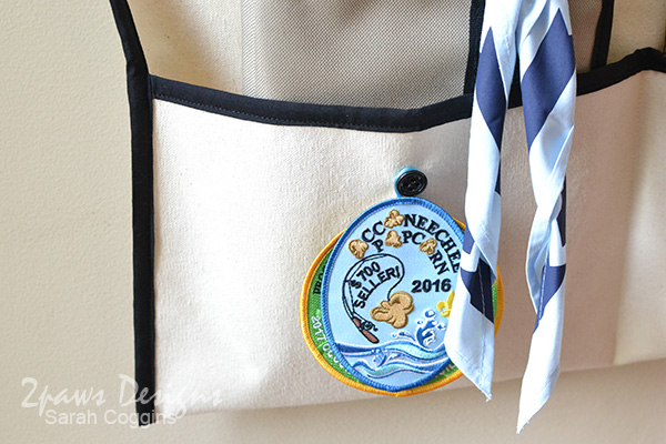 Scout Uniform Organizer: Temporary Patches