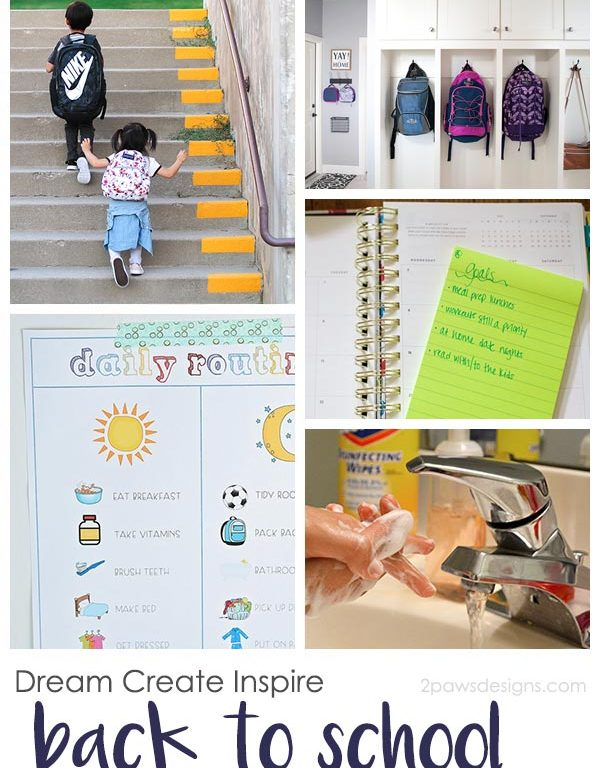 Dream Create Inspire: Back to School Tips to Save Money & Get Organized