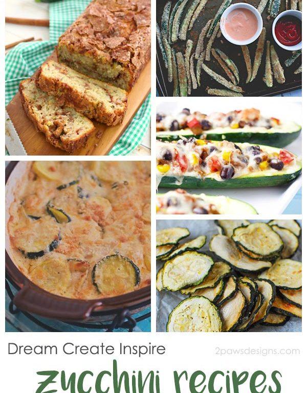 Dream Create Inspire: Zucchini Recipes