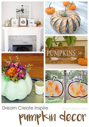 Dream Create Inspire: Pumpkin Decor