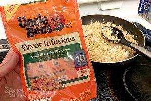 Weeknight Dinner: Uncle Ben's Chicken & Herb Rice #influenster #complimentary