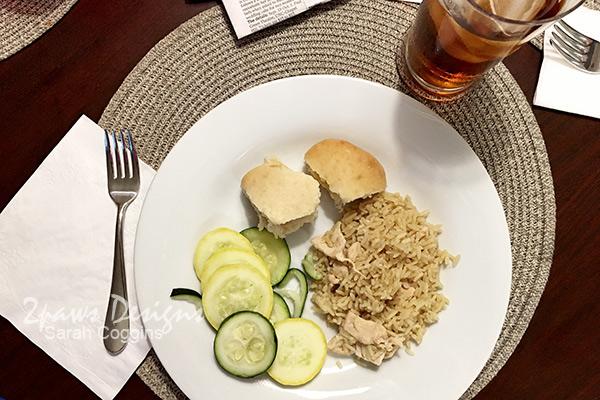 Weeknight Dinner: Uncle Ben's Chicken & Herb Rice #influenster #complimentary