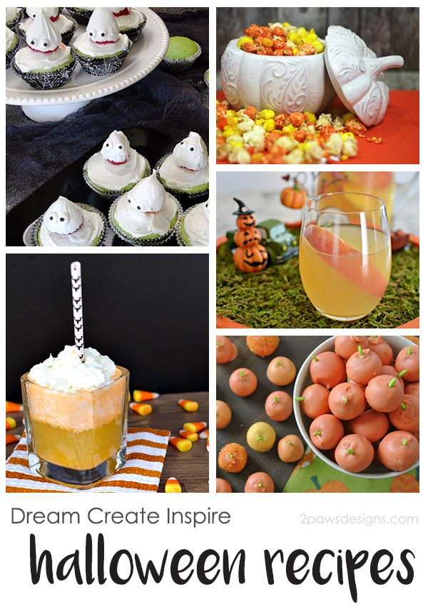 Dream Create Inspire: Halloween Recipes