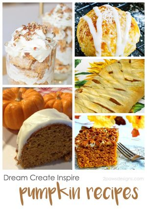 Dream Create Inspire: Pumpkin Recipes