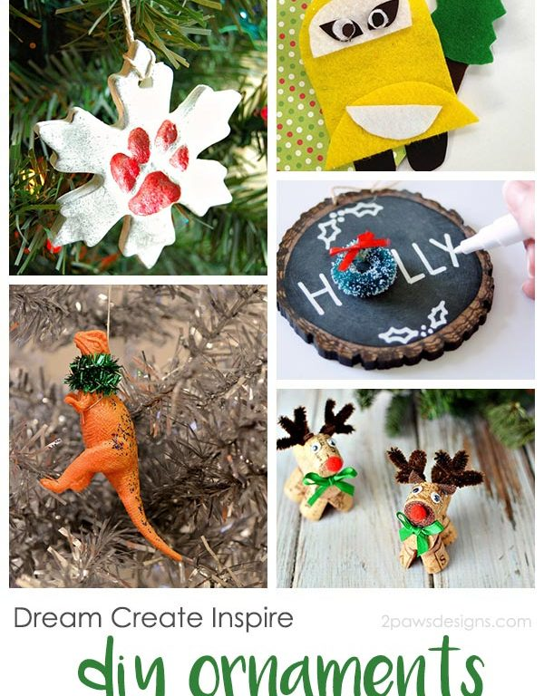 Dream Create Inspire: DIY Christmas Ornaments