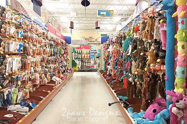 PetSmart Toy Aisle