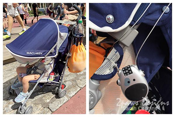Disney: Stroller Lock to Secure Valuables