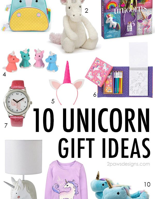 10 Unicorn Gift Ideas