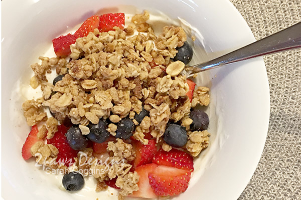 Greek Yogurt, Fruit, and Granola