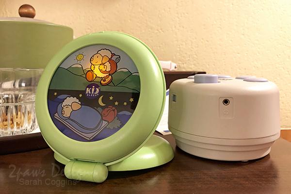 Kid'Sleep Travel Alarm Clock