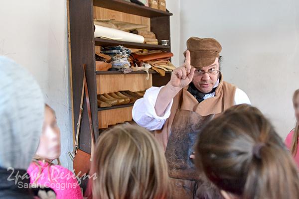 Old Salem: Shoemaker Shop