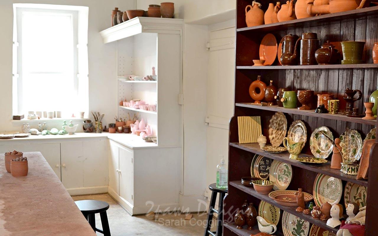 Pottery Shop at Old Salem