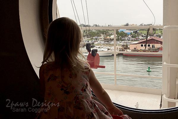 Disney Fantasy Cruise: Leaving Port Canaveral