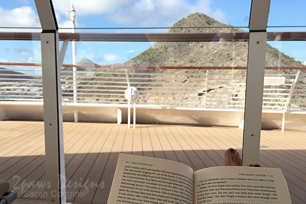 Disney Fantasy Cruise: Reading in Phillipsburg, St Maarten