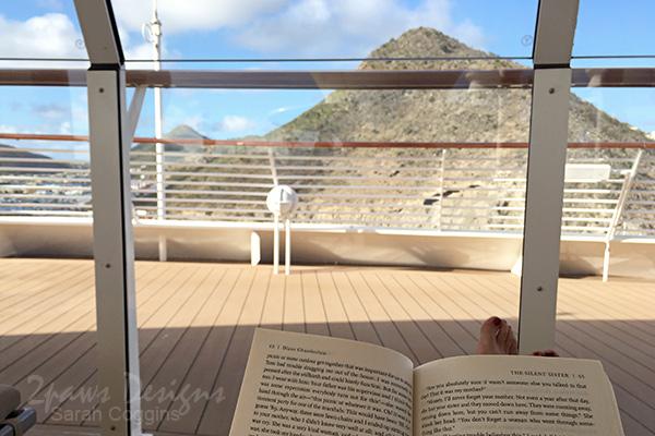 Off the Grid: Reading on the Disney Fantasy in Phillipsburg, St Maarten