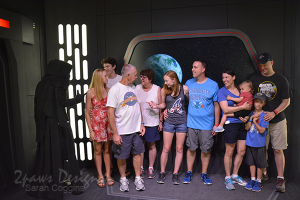Hollywood Studios: Kylo Ren Photo Op