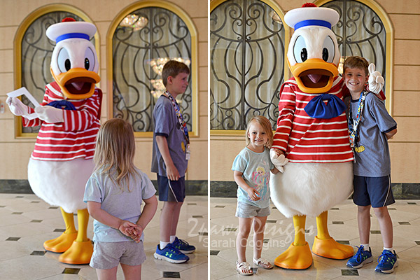 Disney Fantasy Cruise: Donald Duck is Number 1