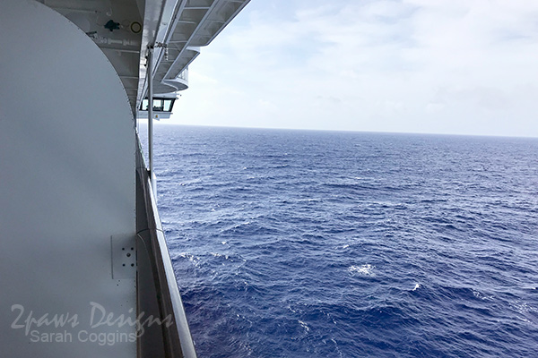 Disney Fantasy Cruise: Verandah View