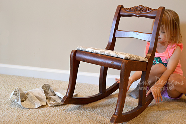 Kids' Rocking Chair Makeover: Assistant
