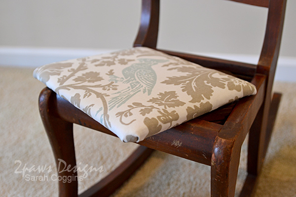Kids' Rocking Chair Makeover: Reattach Seat
