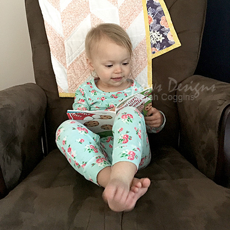 Toddler PJ Hack: Backwards Pajamas