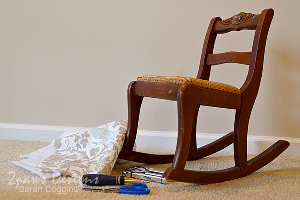 Kids' Rocking Chair Makeover: Before
