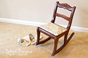 Kids' Rocking Chair Makeover: Complete
