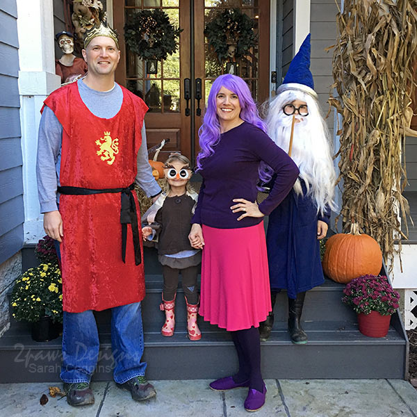 Sword in the Stone Halloween: Family Costumes