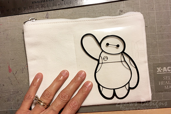 Baymax Canvas Pouch: Place Design