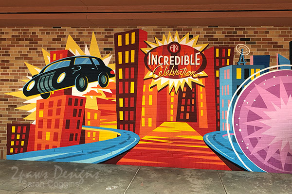 Hollywood Studios: An Incredible Celebration Wall
