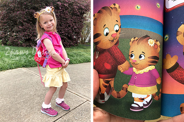 Margaret Tiger Costume and Book Photo