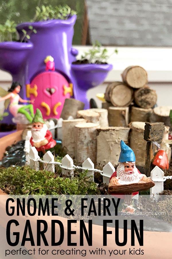 Gnome and Fairy Garden Fun