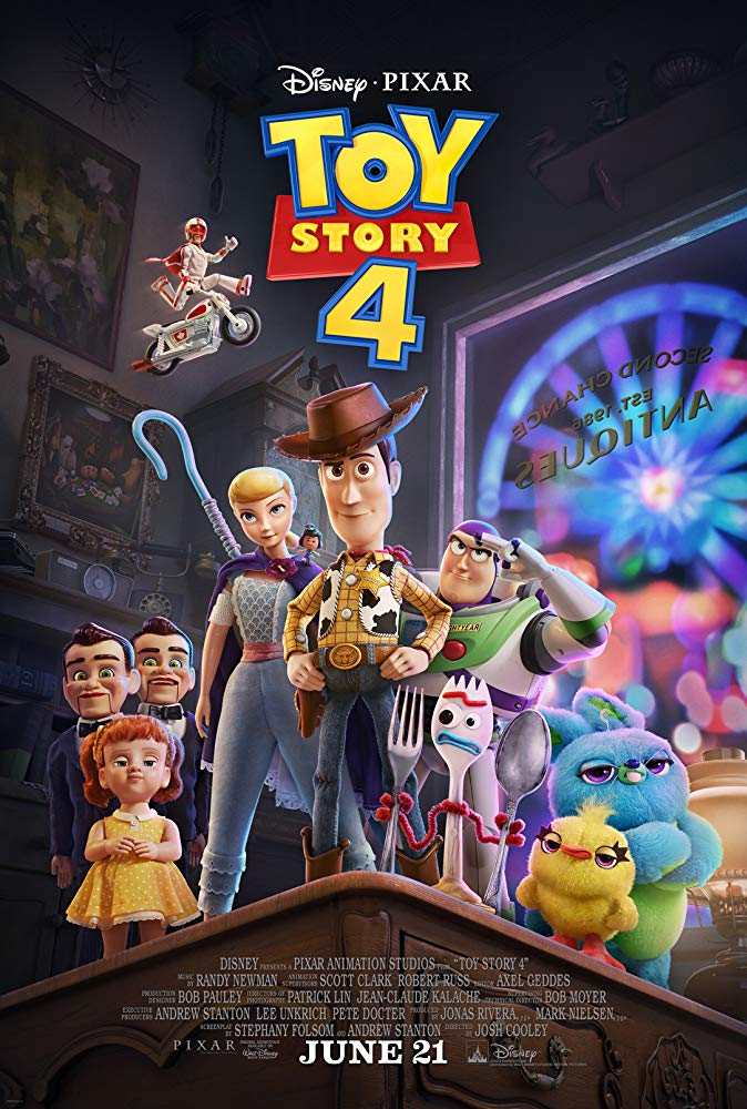 Poster for Toy Story 4 Movie - Copyright Disney/Pixar