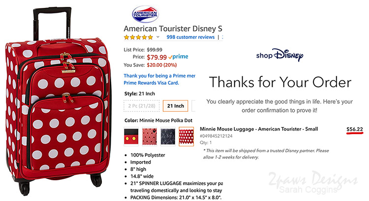 Comparing Luggage Prices Online