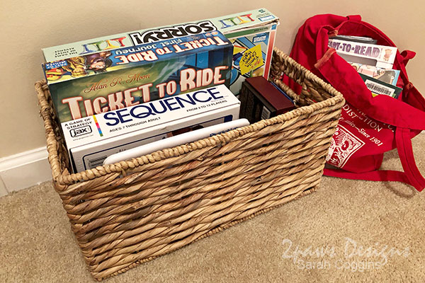 Organize Board Games for Easy Evening Play