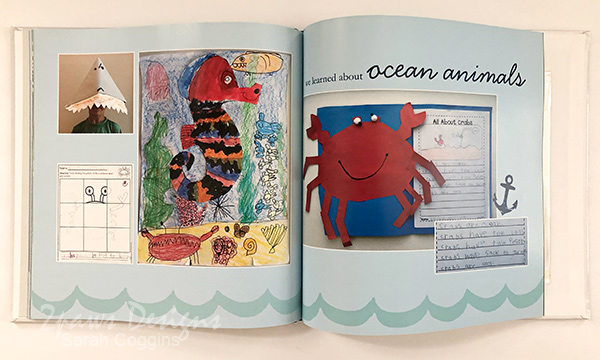 Create a beautiful phonebook with your kids' artwork.