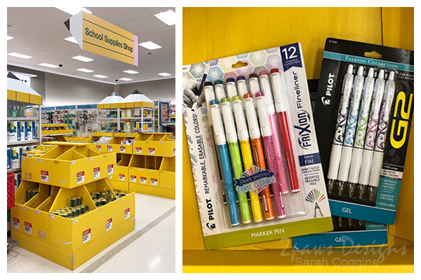 Pilot Pen Products at Target #ad #PilotPenBackToSchool #PowerToThePen