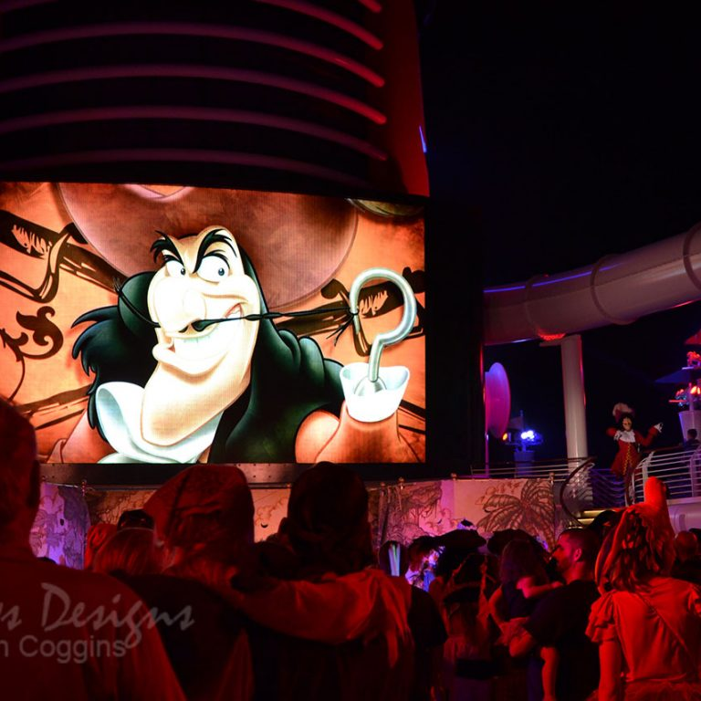 Disney Cruise: Captain Hook