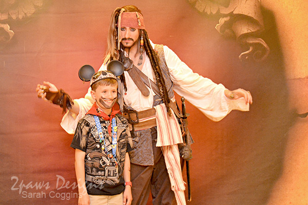Disney Cruise: Jack Sparrow Photo Op
