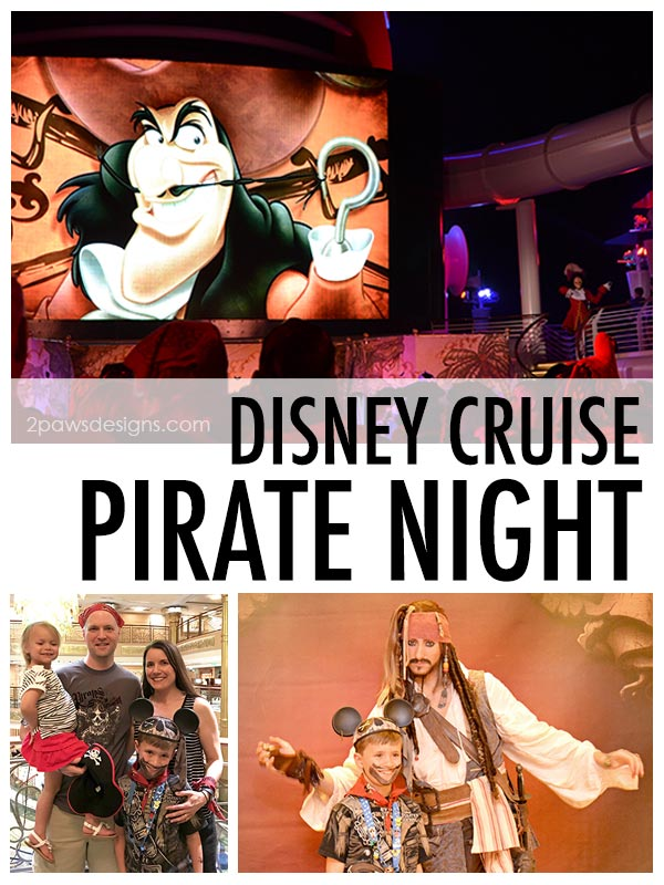 Disney Cruise: Pirate Night