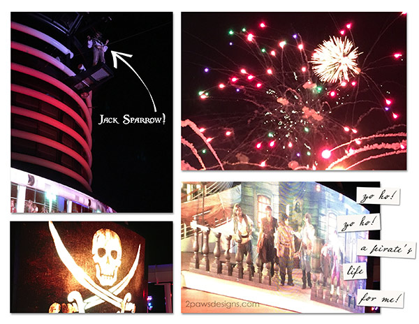 Disney Dream: Pirate Night Fireworks