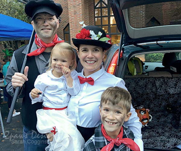 Mary Poppins Family Costumes