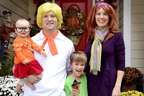 Scooby Doo Family Halloween Costumes