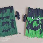Craft Stick Frankenstein Creations
