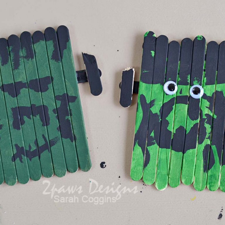 Craft Stick Frankenstein Creations