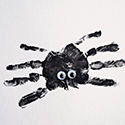 Handprint Spider Craft for Kids